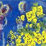 chagall fiori gialli_taglio